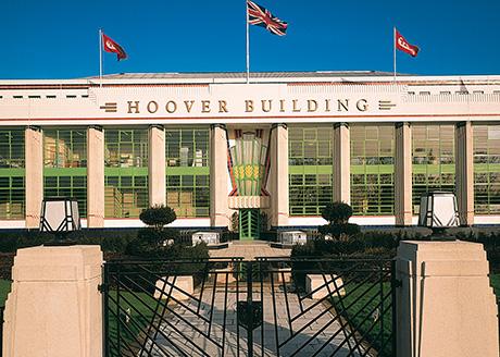 The Hoover Building, London. Architect: Wallis, Gilbert and Partners/Lyons Sleeman Hoare. Engineer: ACDP. Photographer: Mathew Antrobus